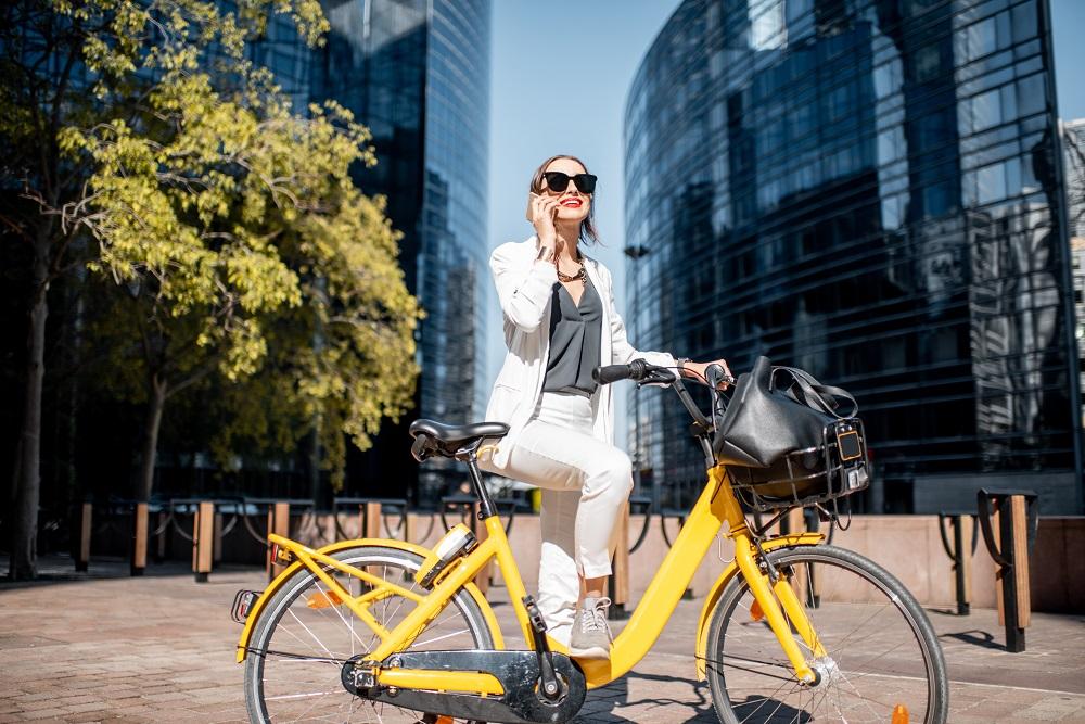 Nowe rowery holenderskie elektryczne